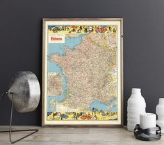 France Routes Map France Old Map France Map France