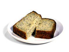 Celiac Friendly Lemon Poppyseed Loaf
