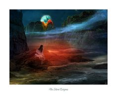 The Silent Enigma by ~MoodyBlue on deviantART