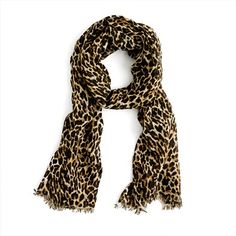 leopard print scarf!