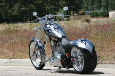 Chopper Motorcycles For Sale, Choppers For Sale, Custom Choppers, Bobber Motorcycle, Big Bear Choppers, The Devil's Advocate, Harley Davidson Chopper, Harley Bikes, Seal Design