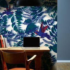 Papier peint tropical Greenwood, Au fil des couleurs