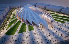 The impressive 'falcon-inspired' design by Santiago Calatrava, wins Dubai Expo 2020 Pavilion prize. Winged pavilion by architect Santiago Calatrava… Santiago Calatrava, Architecture Design, Futuristic Architecture, Amazing Architecture, Classical Architecture, Chinese Architecture, Architecture Office, Architecture Panel, Architecture Portfolio