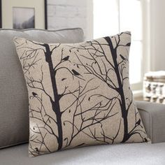 Finch Pillow Cover