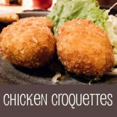 My favorite type of croquette is a chicken croquette, and here I'll show you how to make them. Made from ordinary ingredients you normally have on hand croquettes will get raves from your family! Turkey Croquettes, Chicken Croquettes, Croquettes Recipe, Potato Croquettes, Dutch Croquettes, Chicken Patties, Dutch Recipes, Cooking Recipes, Amish Recipes