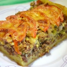 Clear meat pie made from potato dough / Recipes with photos Pie Recipes, Chicken Recipes, Cooking Recipes, Healthy Recipes, Easy Recipes, French Meat Pie, Bolet, Dough Ingredients, Good Food