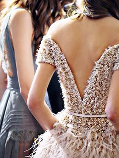 Elie Saab Spring 2015 Couture behind the scenes                                                                                                                                                      More