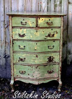 Vintage and Shabby Chic Furniture - Bohemian Moon on Pinterest ...