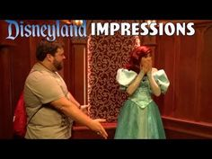 Ariel's Having Too Much Fun With This! - Disneyland Impressions - YouTube