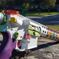 Airsoft Guns, Weapons Guns, Guns And Ammo, Armas Airsoft, Custom Guns, Military Guns, Cool Guns, Assault Rifle, Paintball