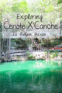 Exploring the fascinating, lesser-visited and impressive Mayan ruins of Ek Balam and the naturally beautiful Cenote X'Canche near Valladolid in Mexico's Yucatan Peninsula -> Check out my detailed guide and review of my experiences while exploring Ek Balam and swimming at Cenote X'Canche on my blog.