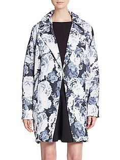 Walking Home Floral Print Jacket - SaksOff5th