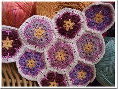 purple afghans