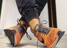 Nike Flyknit Racer - Total Orange (by Tom Gregoire)