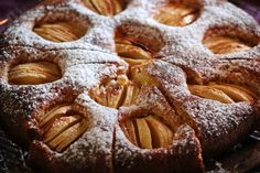 Apple Streusel Cake, Apple Cake, Cupcakes, Sin Gluten, Vegan Desserts, Caramel Apples, Waffles, Food And Drink, Bread