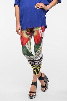 BDG Exotic Bloom High-Rise Legging Online Only
