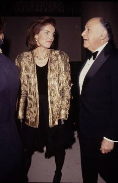 Jackie Kennedy & Maurice Templesman