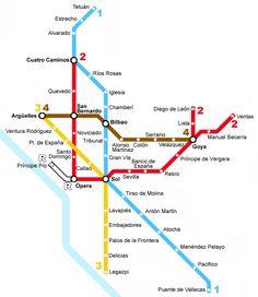 Red de Metro de Madrid, 1951