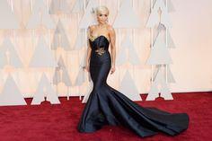 Rita Ora in Marchesa at the 2015 Academy Awards