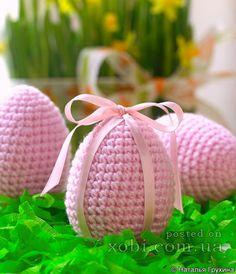 пасхальное яйцо крючком