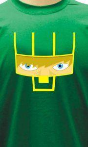 Camiseta Kick-Ass Face - Camisetas Personalizadas, Engraçadas e Criativas