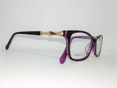 Óculos Pequeno Armação Acetato Feminino Tamanho 51 Demi