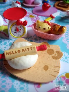 Kawaii Sanrio Hello Kitty Re-ment Food Kitchen Miniatures