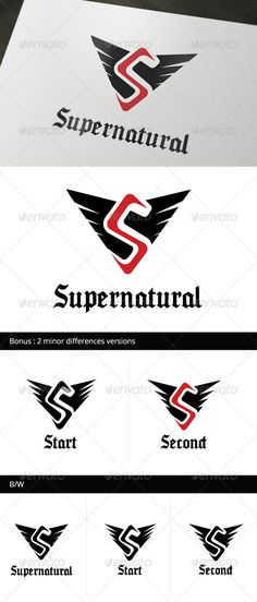Supernatural Logo Template (Letters) Star Network, S Letter Logo, Letterhead, Logo Templates, Supernatural, Letters, Logos, Letter, Occult