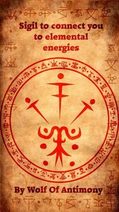 Sigil to connect you to elemental energies Wiccan Symbols, Magic Symbols, Magick Spells, Wicca Witchcraft, Protection Sigils, Sigil Magic, Eclectic Witch, Practical Magic, Book Of Shadows