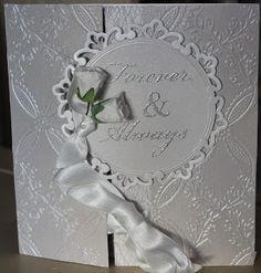 Jettescraftcorner: Wedding Card - Forever & Always Used Materials: . Stamp Pad, Wedding Cards, Wedding Ecards, Wedding Maps