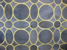 Retro pattern hide carpet, floor model on sale, half price! – Diseño Boston
