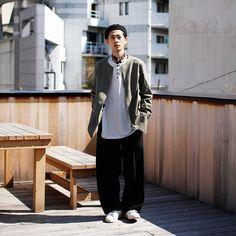 Street Style. Japan.  menswear mnswr mens style mens fashion fashion style streetstyle