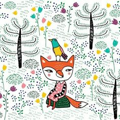 Mira Mallius / Lady Fox Fox, Kids Rugs, Lady, Home Decor, Room Decor, Foxes, Home Interior Design, Decoration Home, Red Fox