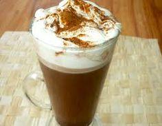 kawa z bitą śmietaną,mmmm:)