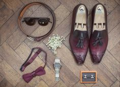 Grooms accessories for his big day