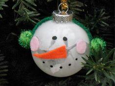 cute snowman DIY ornament