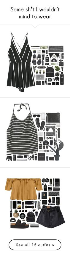 """""""Some sh*t I wouldn't mind to wear"""" by blood-drops ❤ liked on Polyvore featuring Topshop, Yves Saint Laurent, Sephora Collection, T By Alexander Wang, NARS Cosmetics, Brixton, Marc by Marc Jacobs, Monki, Aesop and Elizabeth and James"""