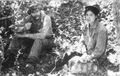 Che Guevara and Loyola Guzmán-Lara (Bolivia, 1967)