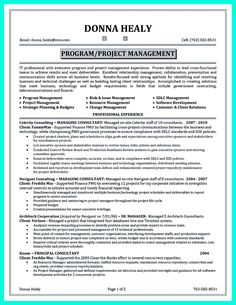 Project Manager Resume  Creative Resume Design Templates Word