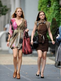 As the 6th and final season of Gossip Girl wraps, we've been reminiscing about the good old days and wondering what will we do once it's all over? We'll miss Serena for her flawless evening looks and Blair for her perfectly edited Park Avenue wardrobe.   Who inspires you more, Blair or Serena?