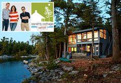 Sarah Richardson's Cottage Rental from HGTV Canada Series