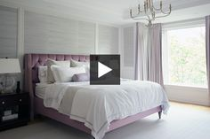 Step inside designer Colette Varghese's serene master bedroom, with a fireplace and gorgeous views of the backyard, and her spa-like ensuite bathroom.