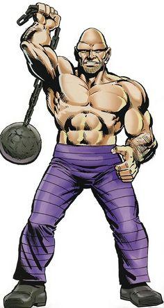 "The Absorbing Man - Carl ""Crusher"" Creel - Marvel Comics version Peggy Carter, Marvel Comics Art, Marvel Dc Comics, Character Profile, Comic Character, Thor Villains, Loki, Red Ghost, Absorbing Man"