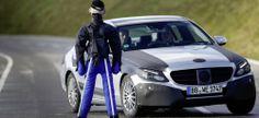 Schumacher testet die neue Mercedes-Benz C-Klasse