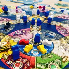 """348 Likes, 5 Comments - Gamer Geeks Making Board Games (@tastyminstrel) on Instagram: """"Great photograph from @volcanoallen - First play! #aquasphere #boardgames - #repost #playtmg"""""""