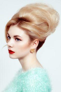 VAE Hair, Hair by Alastair. Hitchcock Heroine, Bardot.