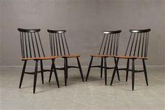 Køb stole - danske klassikere, antikke, moderne - Ilmari Tapiovaara, Edsbyverken, stolar, modell Fanett (4) - SE, Malmö, Baltzarsgatan