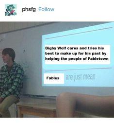 The Wolf Among Us, Big Bad Wolf, Hdd, Videogames, Supernatural, Fandom, Meme, Comics, Black
