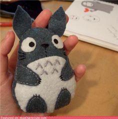 Totoro! I gotta make one of these!