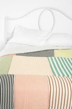 pale stripy color palette